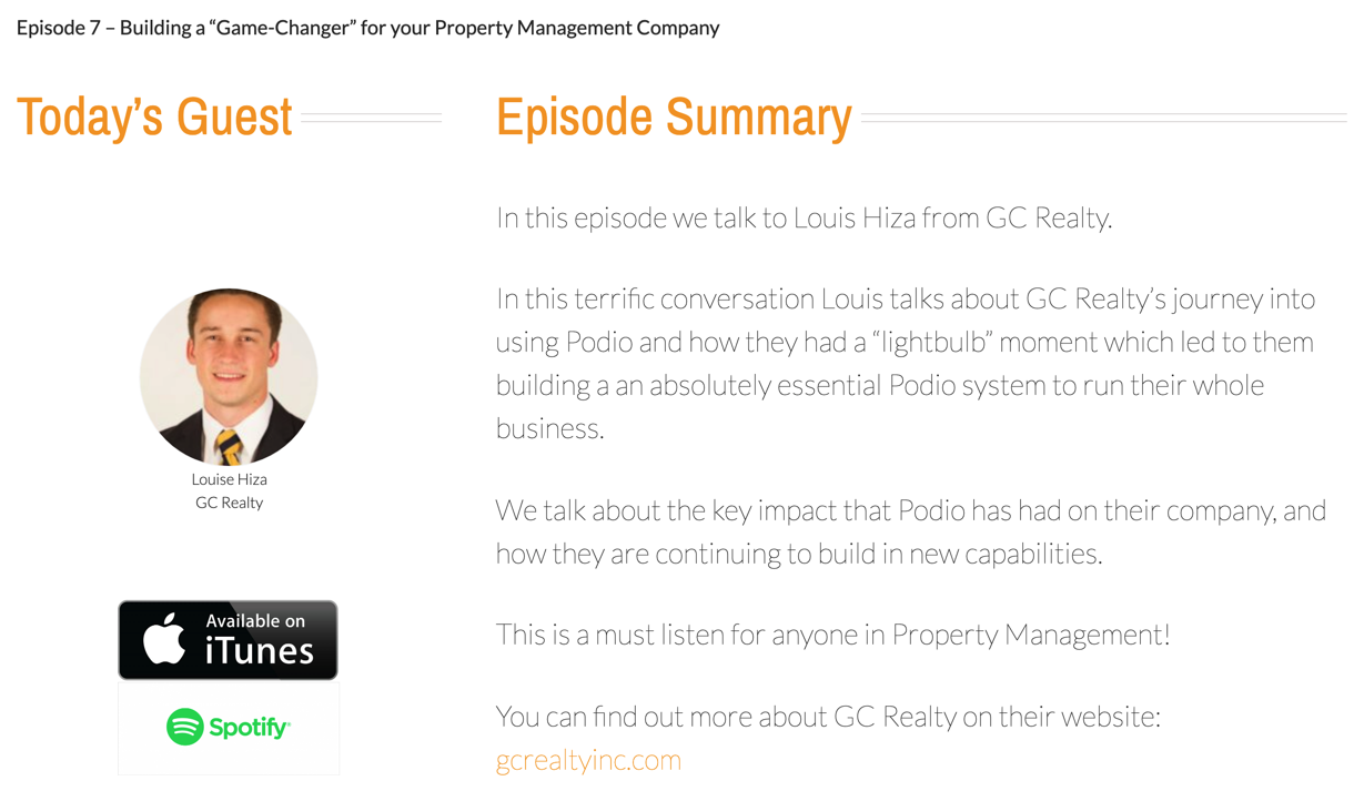"Building a ""Game-Changer"" for your Property Management Company"