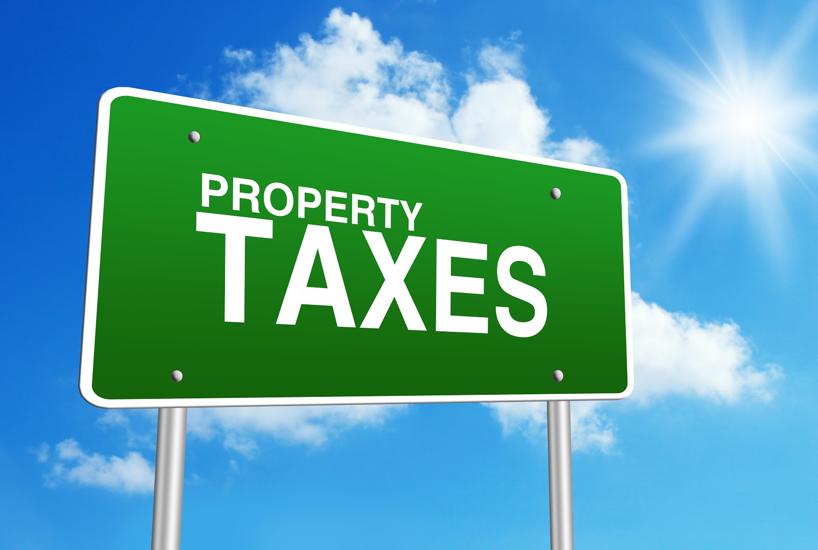 Property Tax Sign